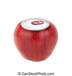 aluminum apple