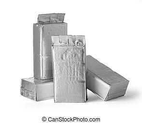 aluminum bag package