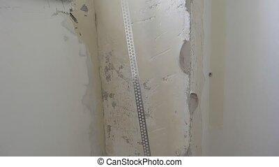 aluminum bracket plaster application