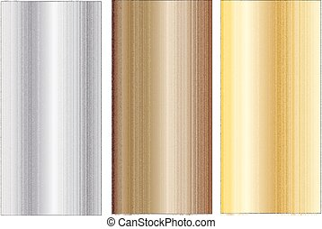 Aluminum, bronze and brass