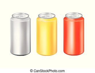 Aluminum can set