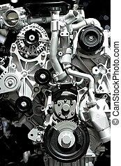 Aluminum Car Engine - Aluminum Modern Powerful and Economic...