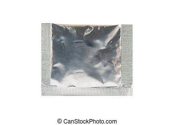 Aluminum foil sachet for medicine powder