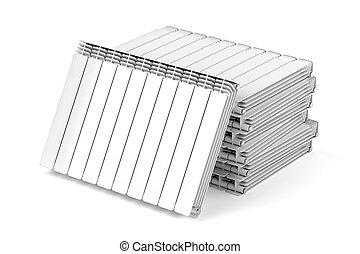 Aluminum heating radiators
