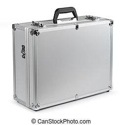 Aluminum safety briefcase - Aluminum safety metal briefcase...