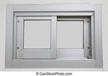 Aluminum sliding doors. - The Aluminum sliding doors,With...