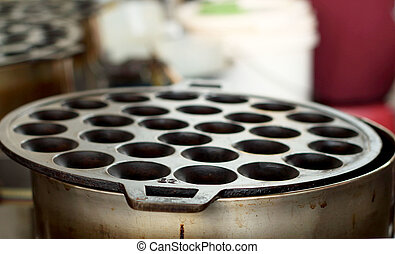 Aluminum stove for sweets Thailand.