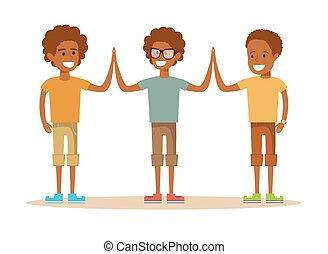 alunni, dare, alto, altro, cinque, ciascuno