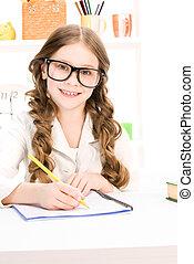 aluno elementar escola