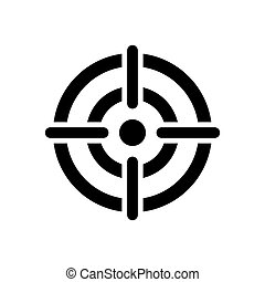 alvo, ícone