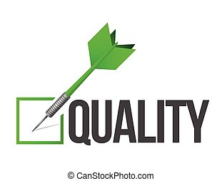 alvo, qualidade, ilustração, desenho