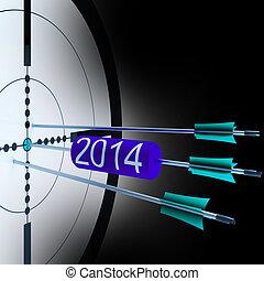alvo, sucedido, futuro, crescimento, 2014, mostra