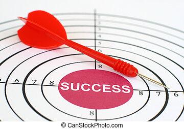 alvo, sucesso