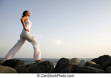 alvorada, ioga
