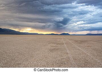Alvord Desert at Sunset