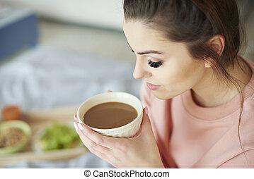 always, bohnenkaffee, geschmäcke, am besten, morgen