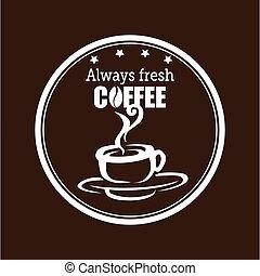 always fresh coffee graphic