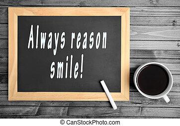 always, grund, smile!