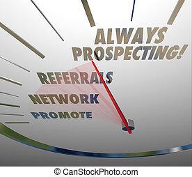 always, kutat, eladás, értékesítések, techniques, lelet, új...