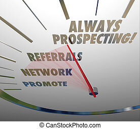 always, prospecting, vender, vendas, técnicas, achando,...