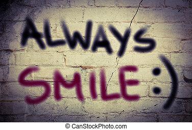 Always Smile Concept