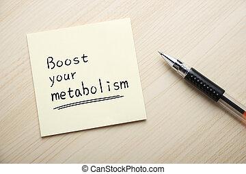 alza, su, metabolism