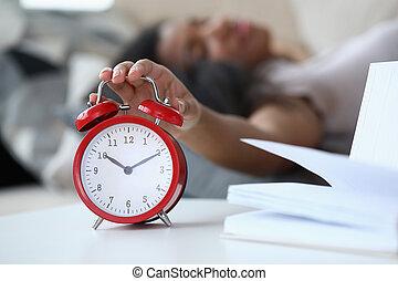alzarsi, tempo