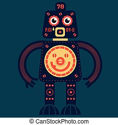 alzati, robot
