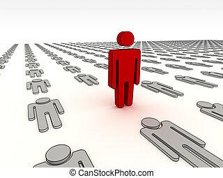alzati, sfida, a, essere, differente