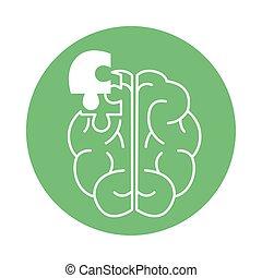 alzheimer , ανθρώπινος , διανοητικός , ρυθμός , νόσος , εικόνα , μειώνω , μυαλό , χρώμα , ικανότητα , εγκέφαλοs , εμποδίζω , γρίφος