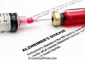 Alzheimer, 疾病