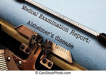 alzheimer 的疾病