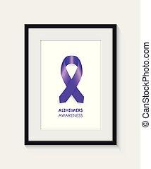 alzheimer awareness frame