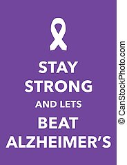 alzheimer poster