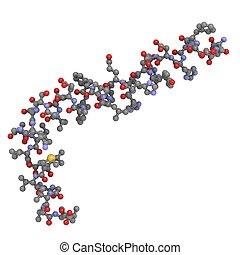 Alzheimer's disease amyloid beta peptide (1-42) - Chemical...