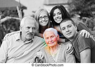 Alzheimers Disease Concept - Alzheimer 's concept - when the...