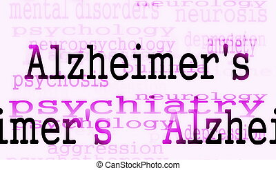 Alzheimer's disease symbol