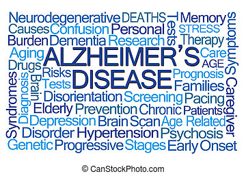 Alzheimer's Disease Word Cloud