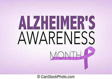 alzheimer's sjukdom, medvetenhet