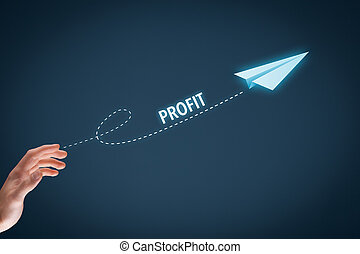 amélioration, profit