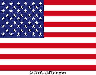 américa, bandera