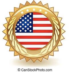 américa, emblema