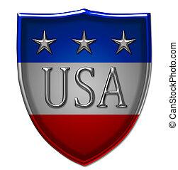 américa, escudo