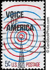 américa, estados unidos de américa, hacia, 1967, -, voz