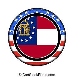 américa, geórgia, botão