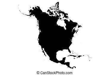 américa, norte
