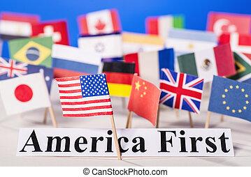 américa, primero
