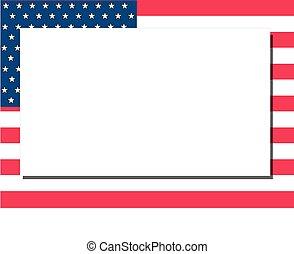 américain, cadre