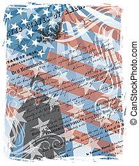 américain, fier, citoyen