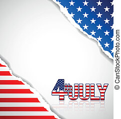 américain, fond